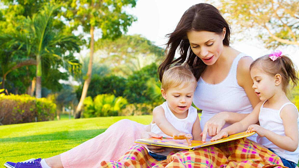 building self esteem through reading with your children