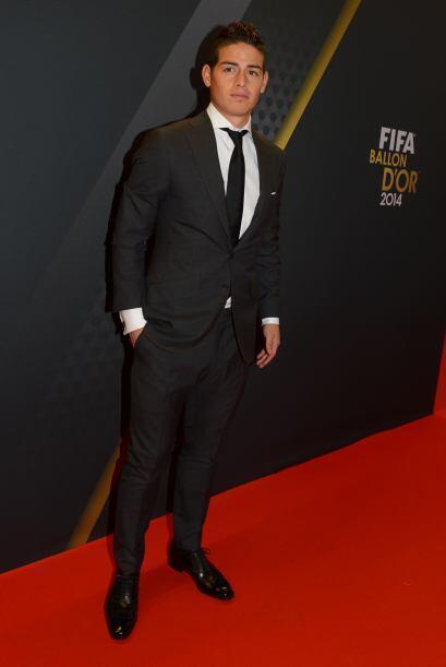 En la lista también figura el colombiano James Rodríguez.