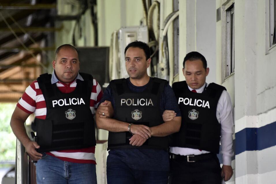 El exgobernador Roberto Borge detenido en Panamá.