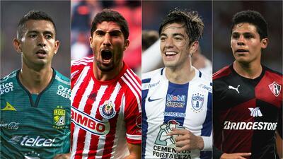 Los jugadores de la Liga MX que podrían revivir al Tri