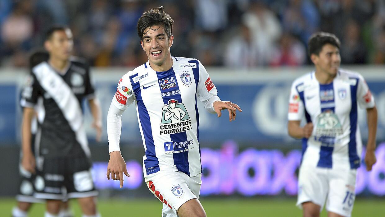 Pachuca goleó 5-2 a Puebla