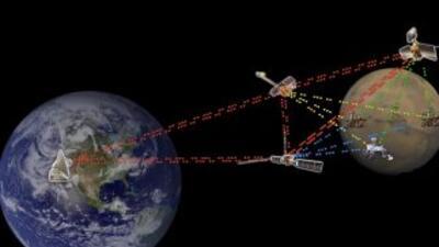 Se espera que en un futuro permita tener comunicación con vehículos espa...