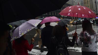 Se pronostica un fin de semana con lluvias en Nueva York, Nueva Jersey y Connecticut
