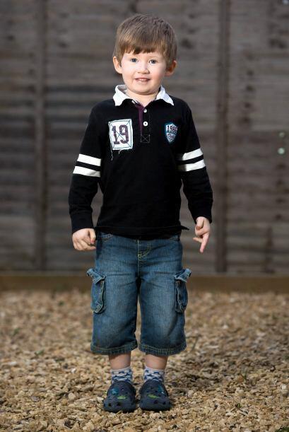 El pequeño casi cumple cuatro años en unos meses y recibirá una educació...