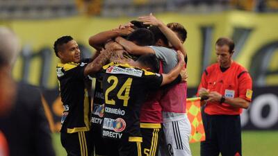 Deportivo Tachira 1-0 Emelec: Tachira elimina a Emelec y acaricia octavos de Libertadores