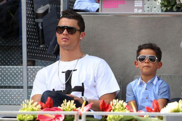 Ronaldo tiene un Jr. que le hace la vida más divertida y que comparte su...