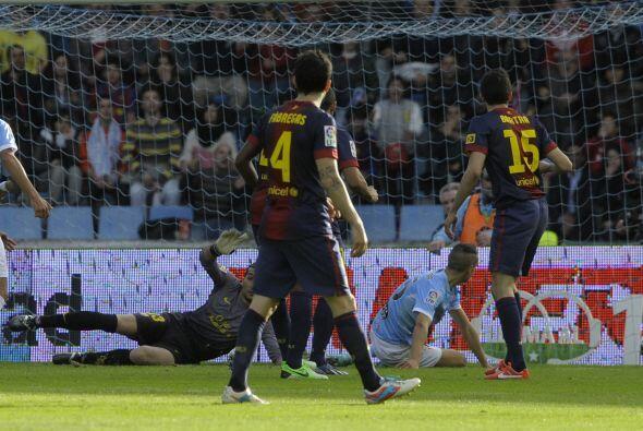 Insa comenzó sorprendiendo con su gol a los 37 minutos.