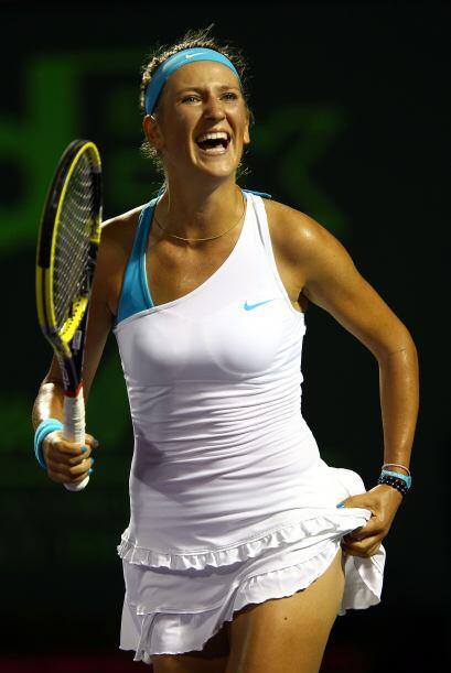 Al parecer, el outfit deportivo de la bielorusa Victoria Azarenka le cau...