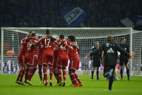 El Bayern de Pep terminó la campaña 2013-14 con 29 victorias en las 34 j...