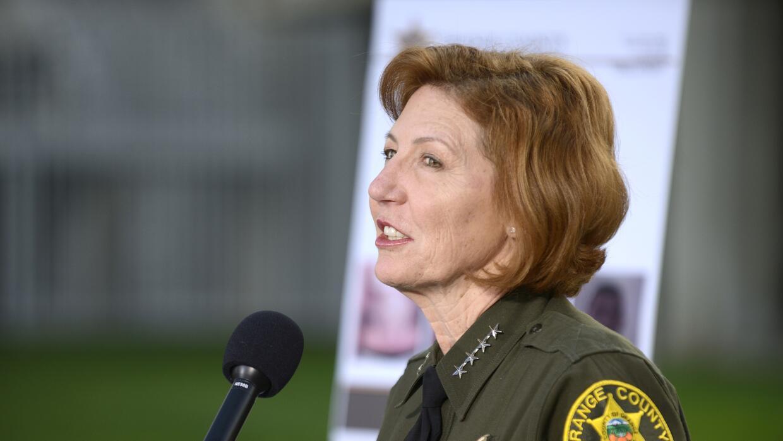 Sandra Hutchens, sheriff del condado de Orange