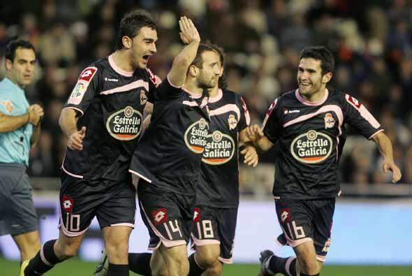 El Deportivo ganó 2-1 y sacó un buen resultado para la vuelta en La Coruña.