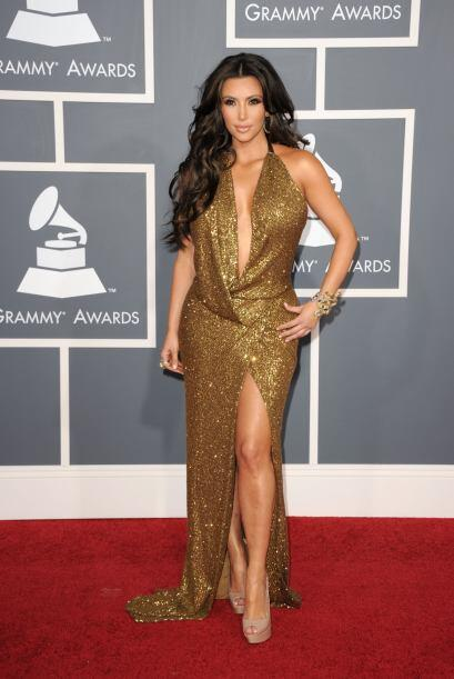 Desde hace mucho que no vemos a Kim Kardashian pisar la alfombra de los...