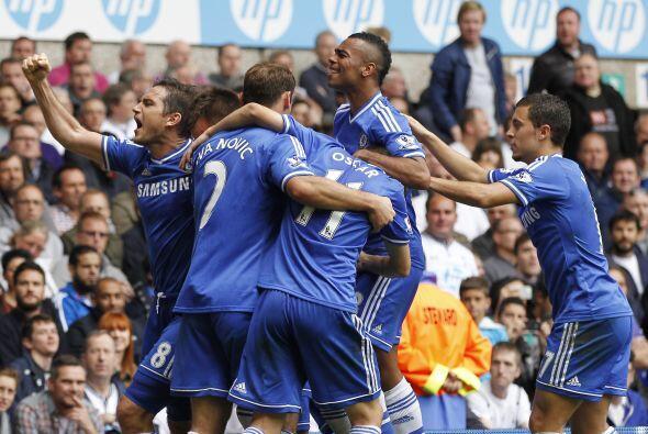 El gol slavaba al Chelsea de otra derrota.