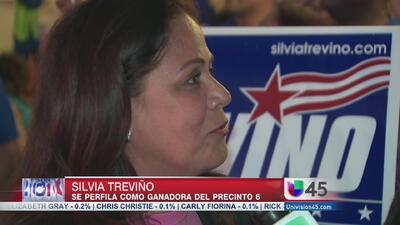Silvia Treviño en la delantera a la jefatura del precinto 6