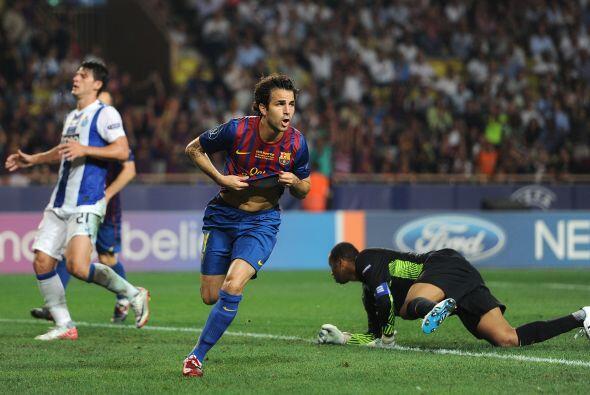 En el 2011 el Barcelona se llevó el trofeo con gran actuación de Fábrega...