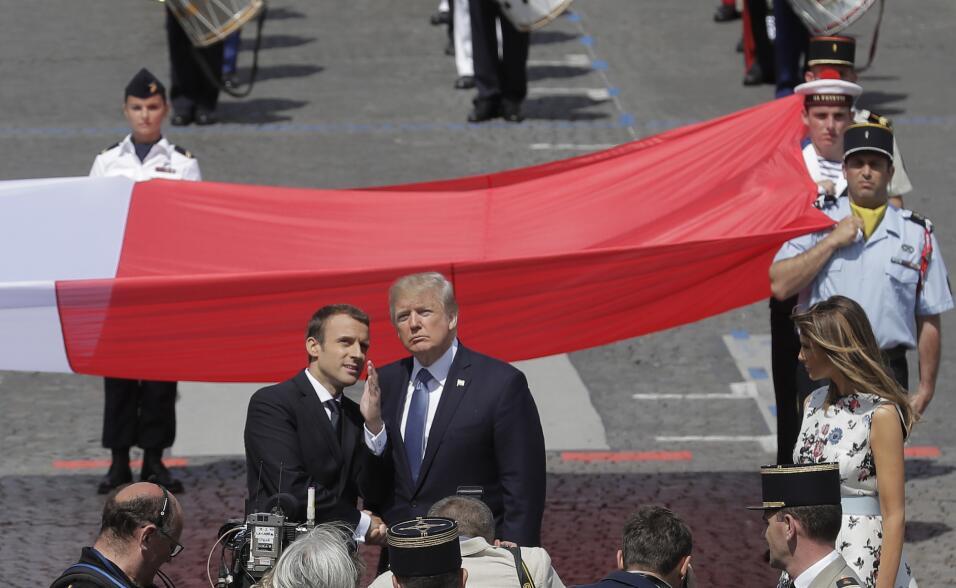 Trump pide un desfile militar para mostrar el poderío de EEUU, algo que...