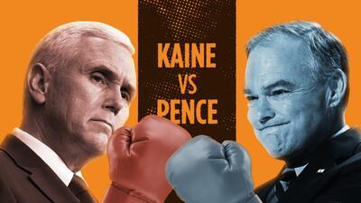 Kaine vs. Pence en cuatro asaltos