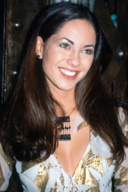 Bárbara Mori en 1999, año en que viaja a Miami para protag...