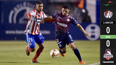 Atlético San Luis y Cimarrones dejan todo para la vuelta en el Ascenso MX
