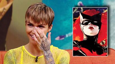Ruby Rose reacciona emocionada cuando la felicitan por su nuevo rol de 'Batwoman'