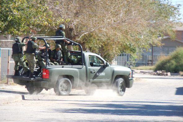 La tensión que se vive en los estados del norte mexicano fue palp...