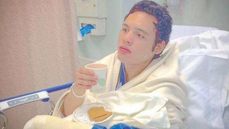 Chávez Jr. después de la operación
