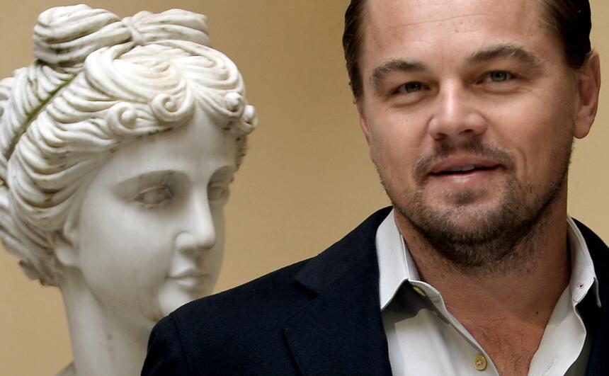 DiCaprio promueve 'The Revenant' en Francia.