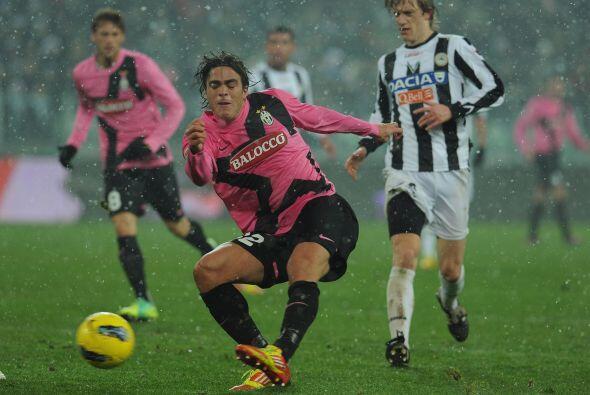 Juventus le ganó al Udinese 2 a 1 y se mantiene como puntero del 'Calcio'.