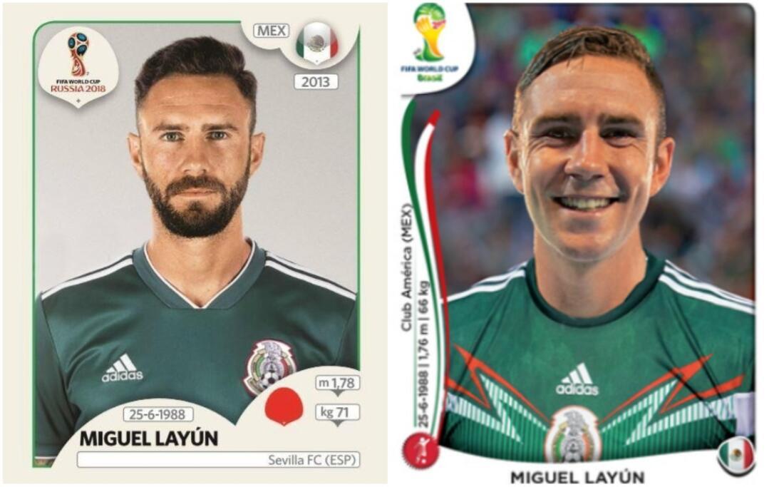 Miguel Layún - Rusia 2018 / Brasil 2014