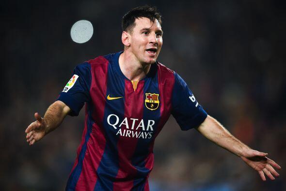 El '10' del Barcelona acumula 258 goles en España, en lo que tiene hasta...