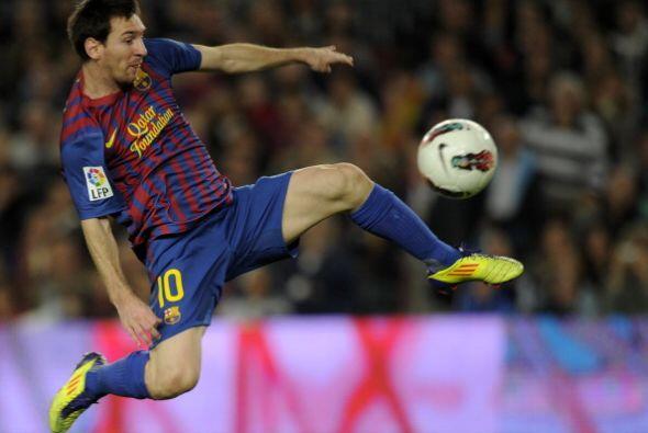 La 'Pulga' Messi luchó pero pero no terminó de la mejor manera.