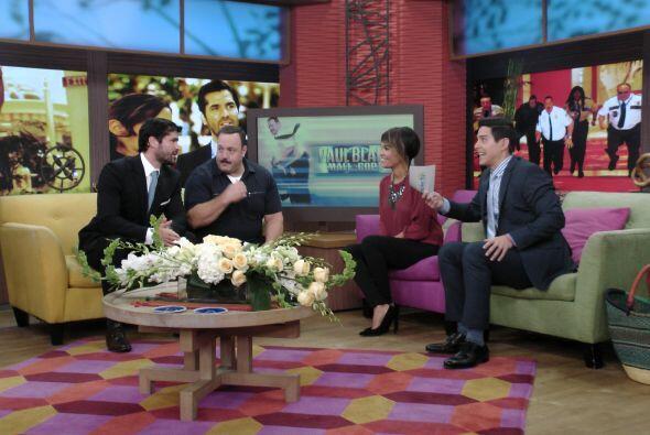 Y se siente muy orgulloso de participar junto a Kevin en esta película.