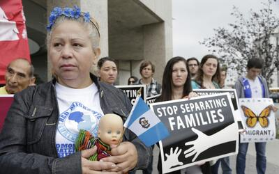 The trump administration cancelled TPS for some 195,000 Salvadorans on M...