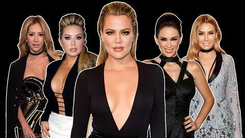 Kholé Kardashian, compañeros infieles