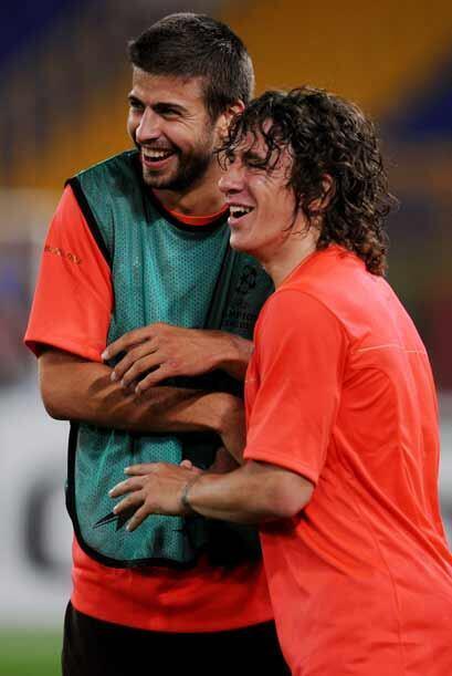 En la zaga barcelonista, la dupla Puyol-Piqué deberá tener coordinación...
