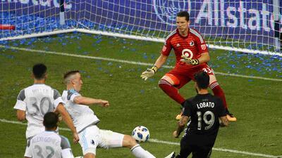 Sporting KC se da un festín ante Minnesota con goles de Cristian Lobato y Diego Rubio