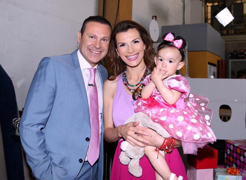 Baby Michelle hija de Alan Tacher