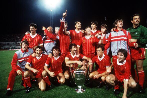 Para 1981 el Liverpool se llevó la 'Orejona' sobre el Real Madrid, con r...