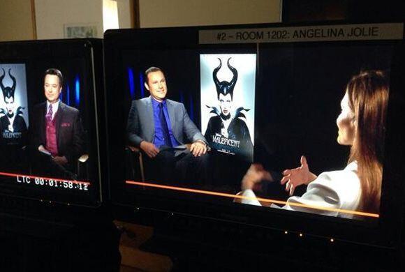 """""""Único medio hispano @DespiertaAmeric en entrevistar a #angelinajolie po..."""