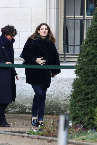 Carlota Casiraghi reapareció tras convertirse en mamá. Más videos de Chi...