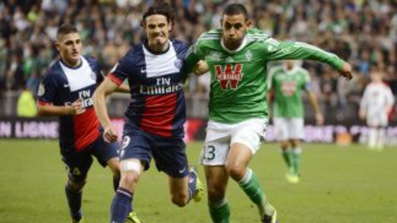 Cavani descontó para los parisinos y Matuidipuso el empate.