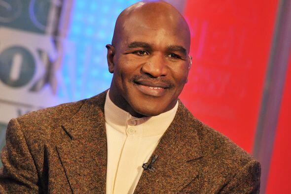 EVANDER HOLYFIELD- El ex boxeador de peso pesado, Evander Holyfield, ha...