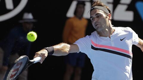 Roger Federer no ha perdido un solo set en lo que va del torneo.