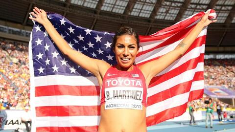 Brenda Martinez, from California, will compete in the 2016 Olympics.
