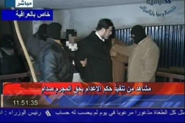 El cable reveló la intimidad de últimos minutos en la vida de Sadam Huss...