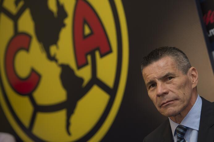 Así fue la presentación de Miguel Herrera como nuevo técnico del América...