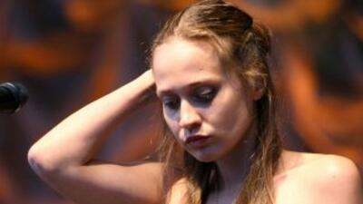 La cantante Fiona Apple.