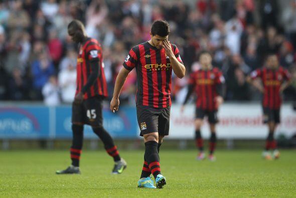 Pero el marcador ya no cambió y el Swansea sacó los tres puntos.