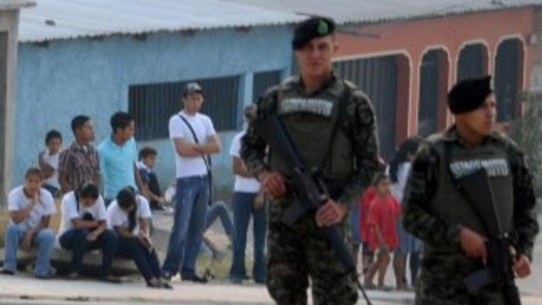 Honduras afronta una ininterrumpida ola de violencia que lo llevó a ocup...
