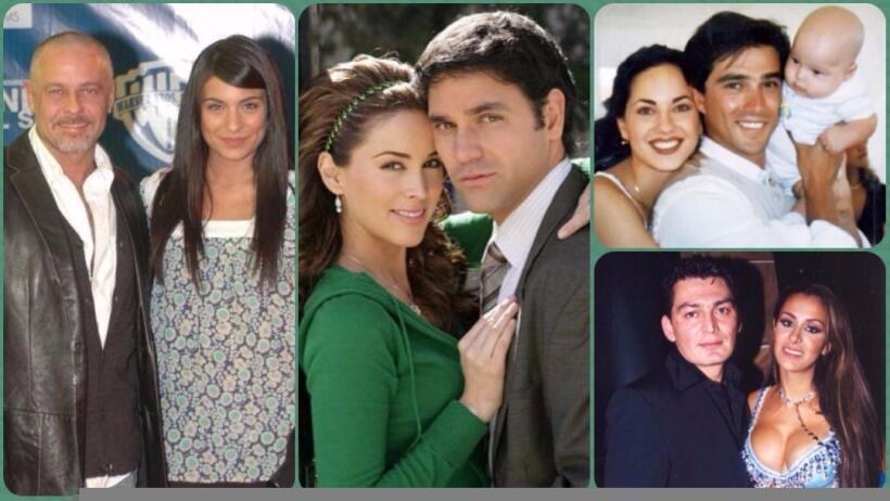 Estos famosos fueron las parejas de moda hace varios años, &iques...